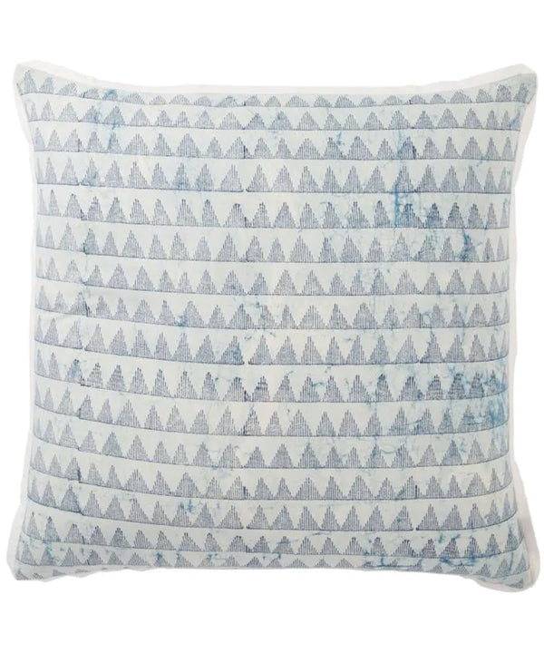 Ryleigh Pillow, Sky & Indigo