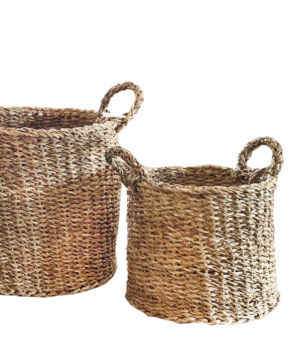 Seagrass Braided Basket