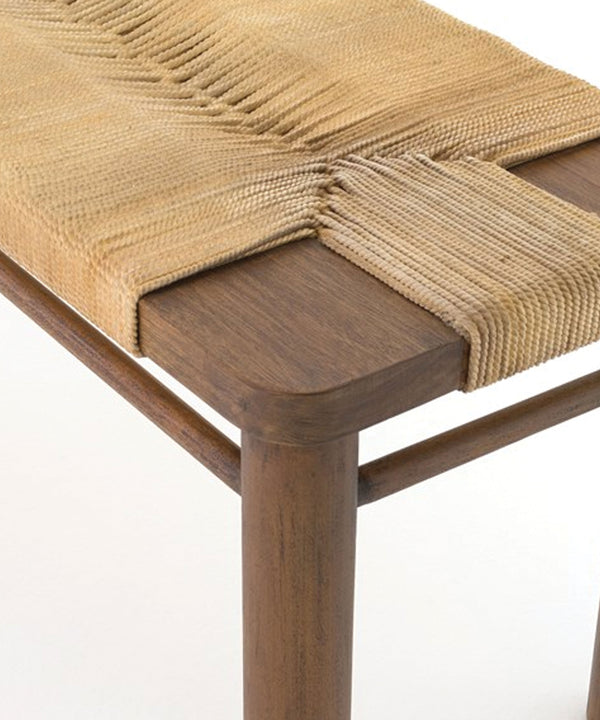 Sadie Woven Rope Bench