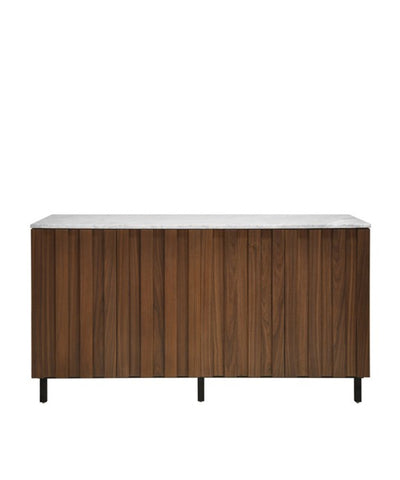 Stella Sideboard, Dark Walnut and Marble