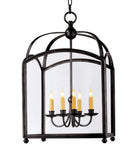 Large Arch Top Lantern, Bronze