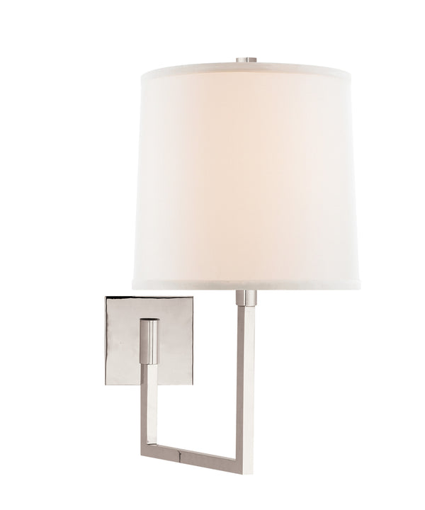 Aspect Large Articulating Sconce, Polished Nickel