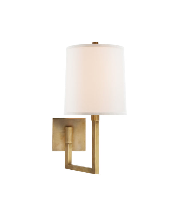 Aspect Small Articulating Sconce, Brass