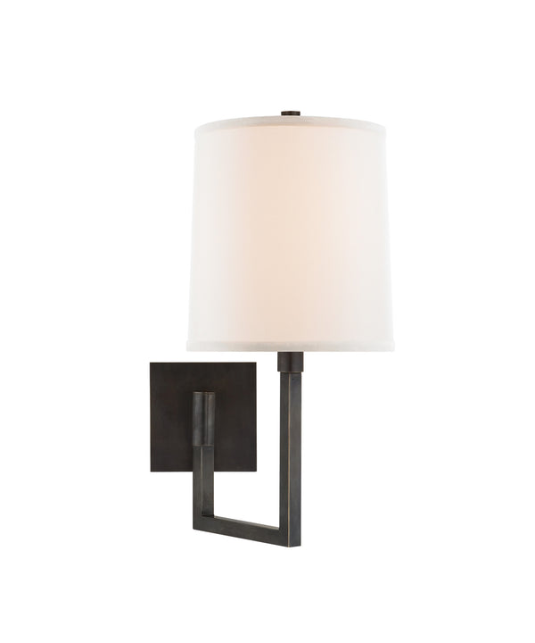 Aspect Small Articulating Sconce, Bronze
