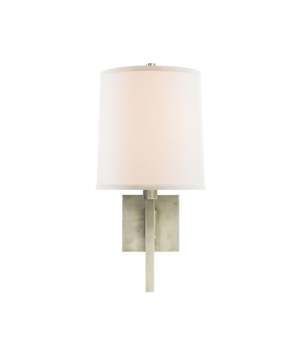 Aspect Small Articulating Sconce, Pewter