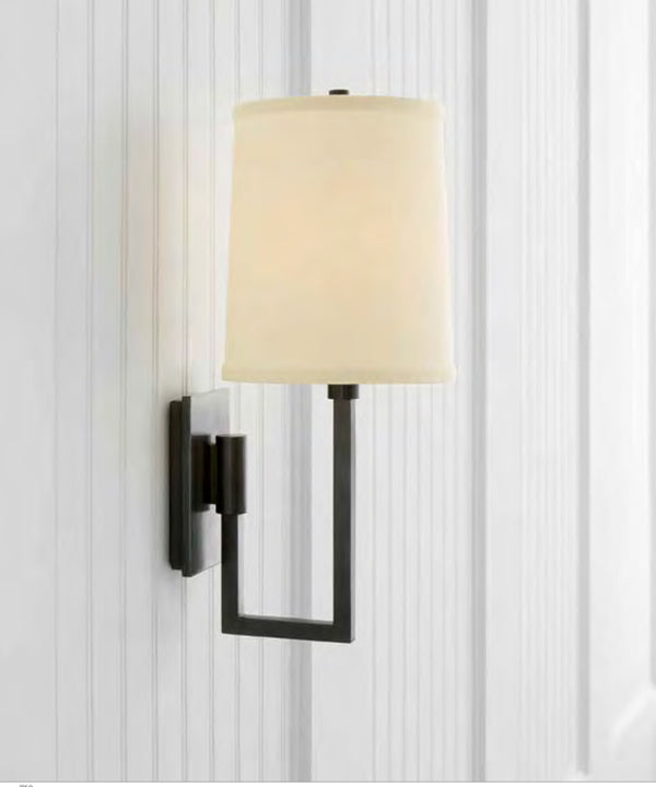 Aspect Library Sconce, Bronze