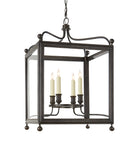 Medium Greggory Hanging Lantern, Bronze