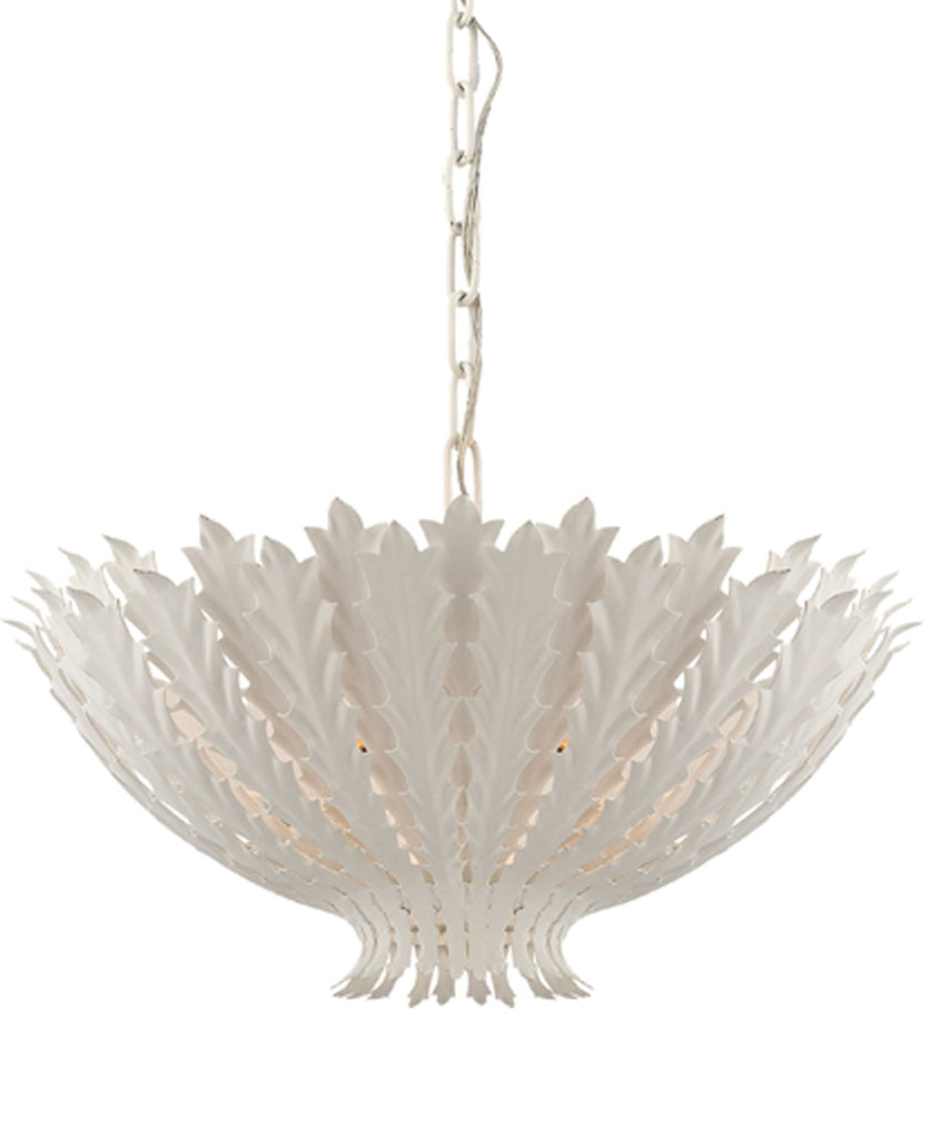 Hampton Pendant in White