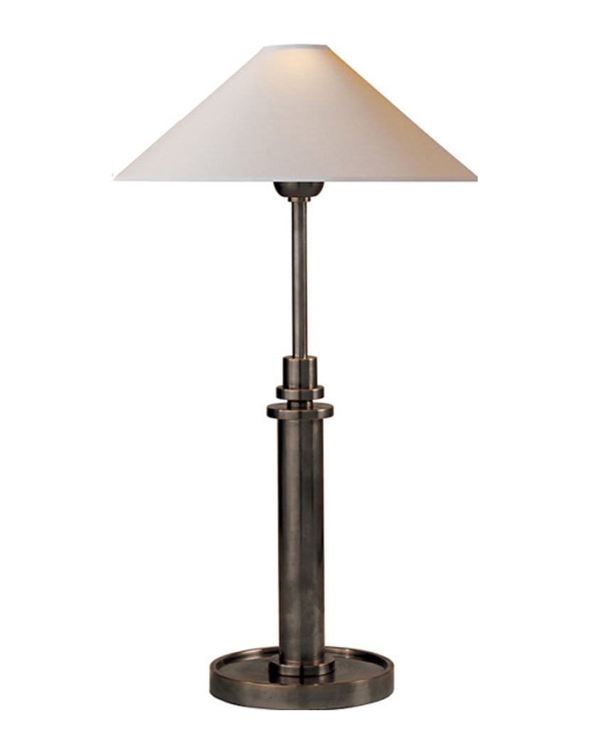 Hargett Adjustable Table Lamp, Bronze