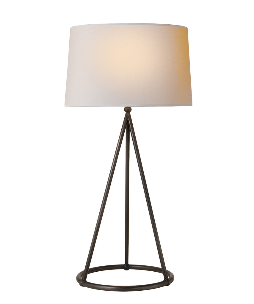 Nina Tapered Table Lamp, Bronze