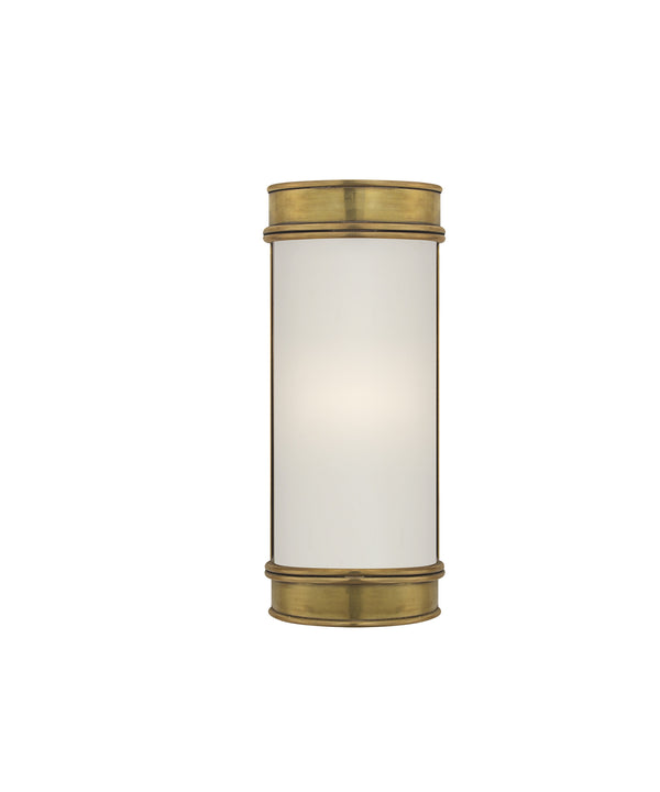 "Oxford 8"" Bath Sconce, Antique Brass"