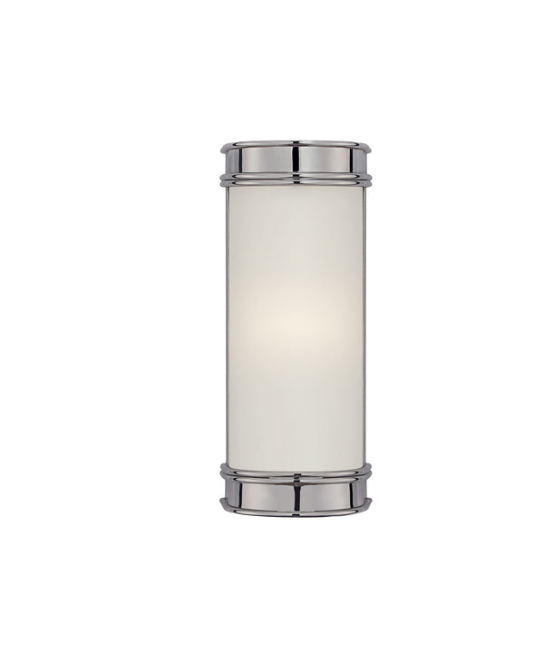 "Oxford 8"" Bath Sconce, Chrome"