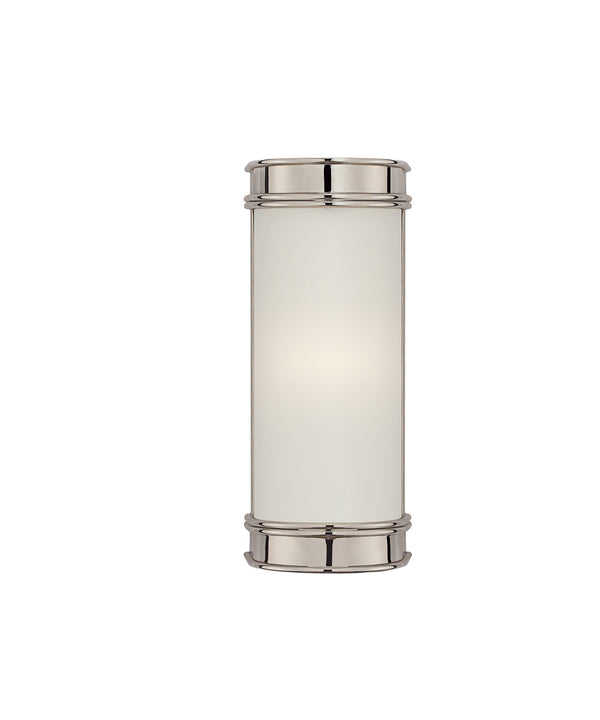 "Oxford 8"" Bath Sconce, Polished Nickel"