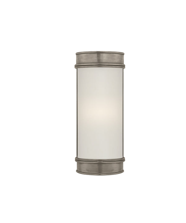 "Oxford 8"" Bath Sconce, Antique Nickel"