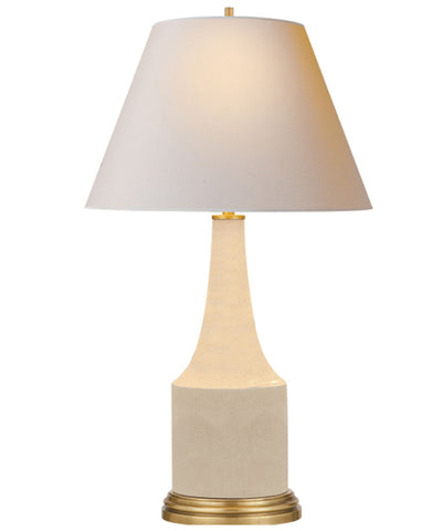 Sawyer Table Lamp, Tea Stain