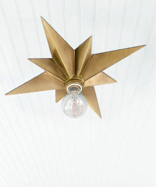 Star Flush Mount Ceiling Fixture High Street Market