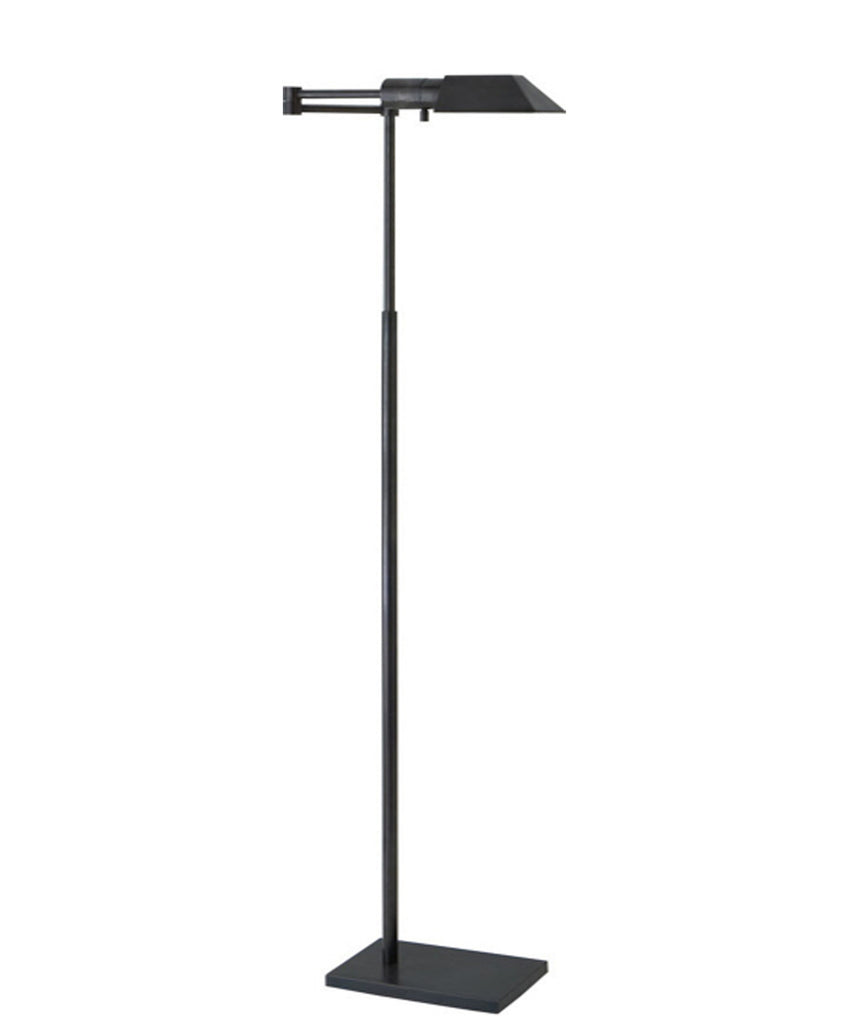 Studio swing arm floor lamp bronze high street market studio swing arm floor lamp bronze mozeypictures Image collections