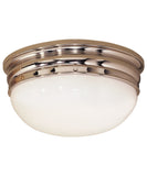 Crown Flush Mount, Large
