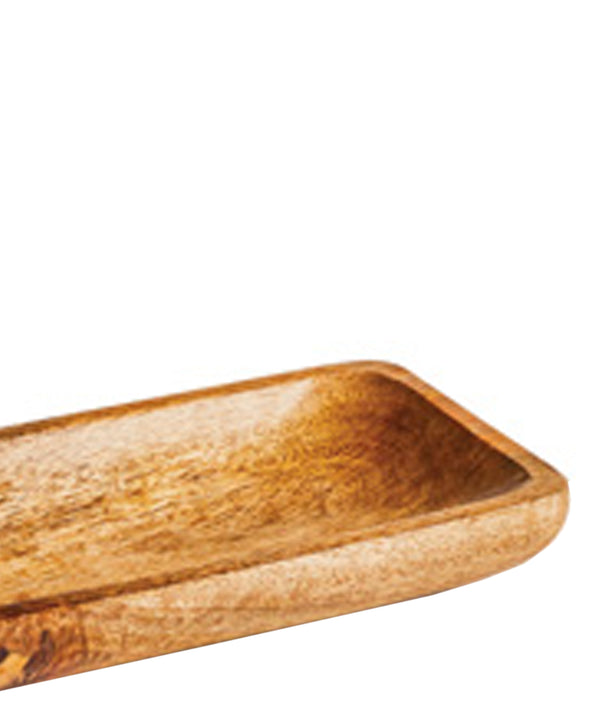 Natural Wooden Valet Tray