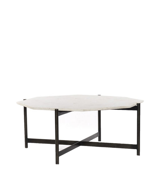 Addison Marble Top Coffee Table Grey High Street Market - Grey marble top coffee table