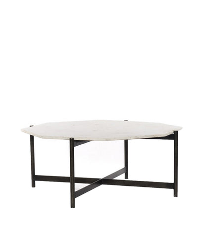 Addison Marble Top Coffee Table, Grey