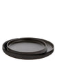 Alpine Black Ceramic Tray