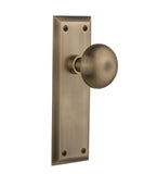 Philadelphia Interior Door Knob Set, Long Plate