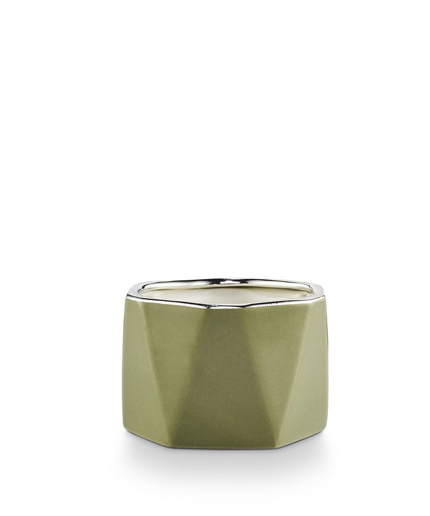"""Balsam & Cedar"" Holiday Shine Ceramic Vessel Candle"