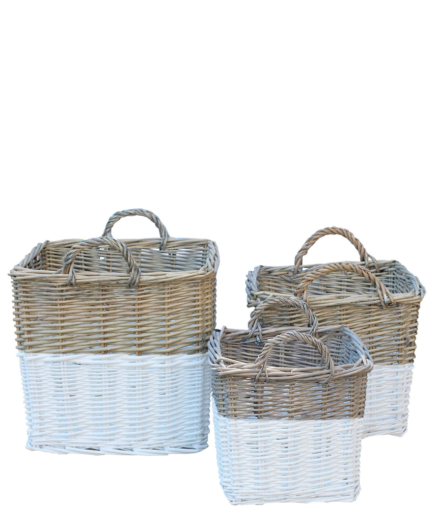 Dipped Woven Square Basket