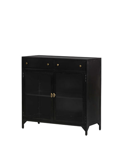 Conservatory Console Small Cabinet, Black