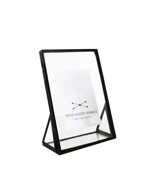 Double Sided Glass Picture Frame, Bronze – High Street Market