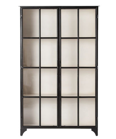 Superbe Seabrook Iron Cabinet, Black ...