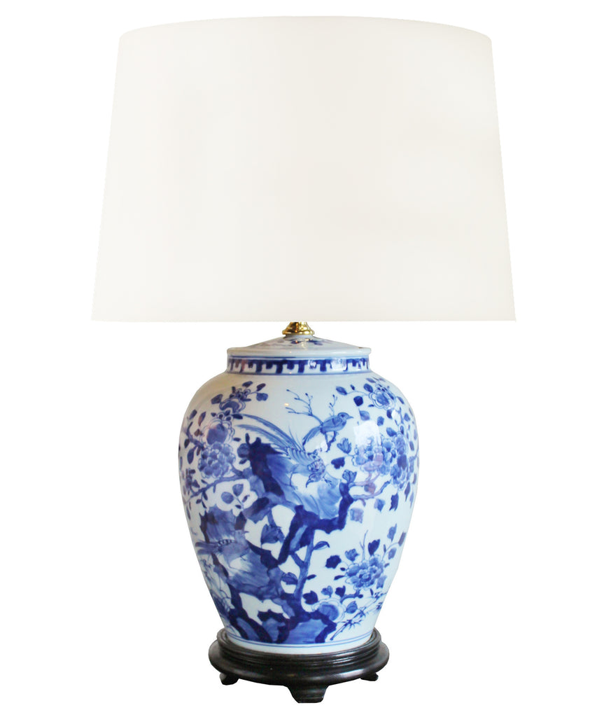 Blue U0026 White Porcelain Table Lamp