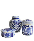 Blue & White Porcelain Box