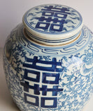 Blue & White Ginger Jar, 10