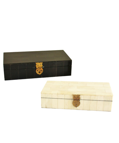 Bone Storage Boxes with Brass Latch