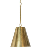 Taylor Tapered Pendant, Brass