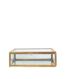 Brass & Glass Display Boxes