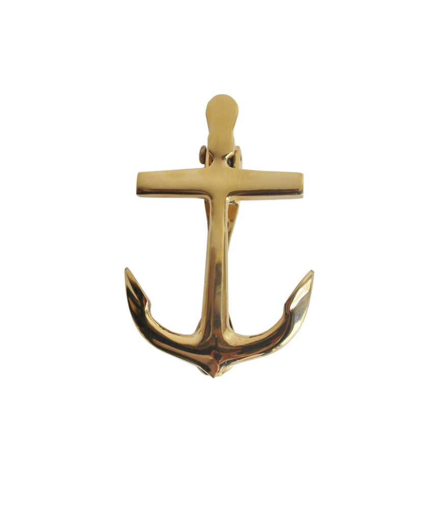 Brass Anchor Door Knocker