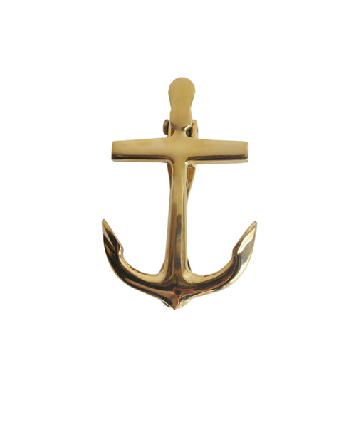Delicieux Brass Anchor Door Knocker ...
