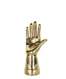 Modern Brass Hand Sculpture or Ring Holder