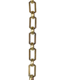 Extra Solid Brass Chain, 1 foot