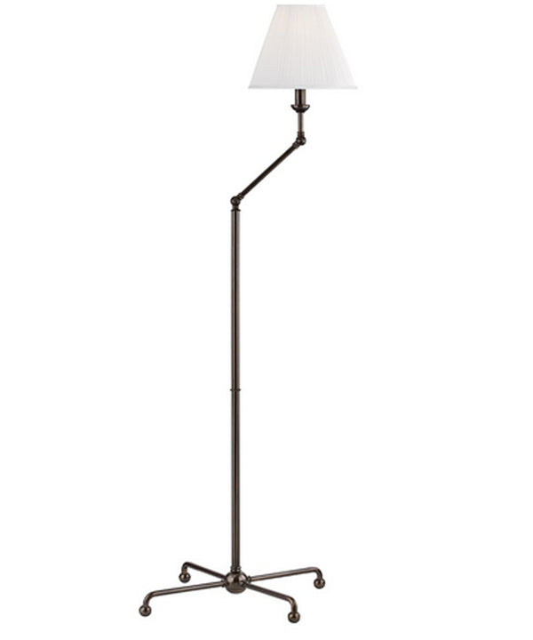Classic No. 1 Adjustable Floor Lamp, Bronze