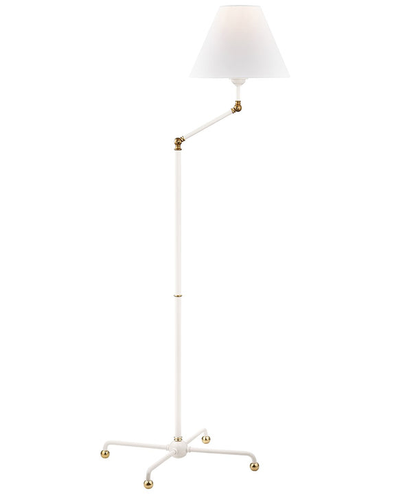 Classic No. 1 Adjustable Floor Lamp, White