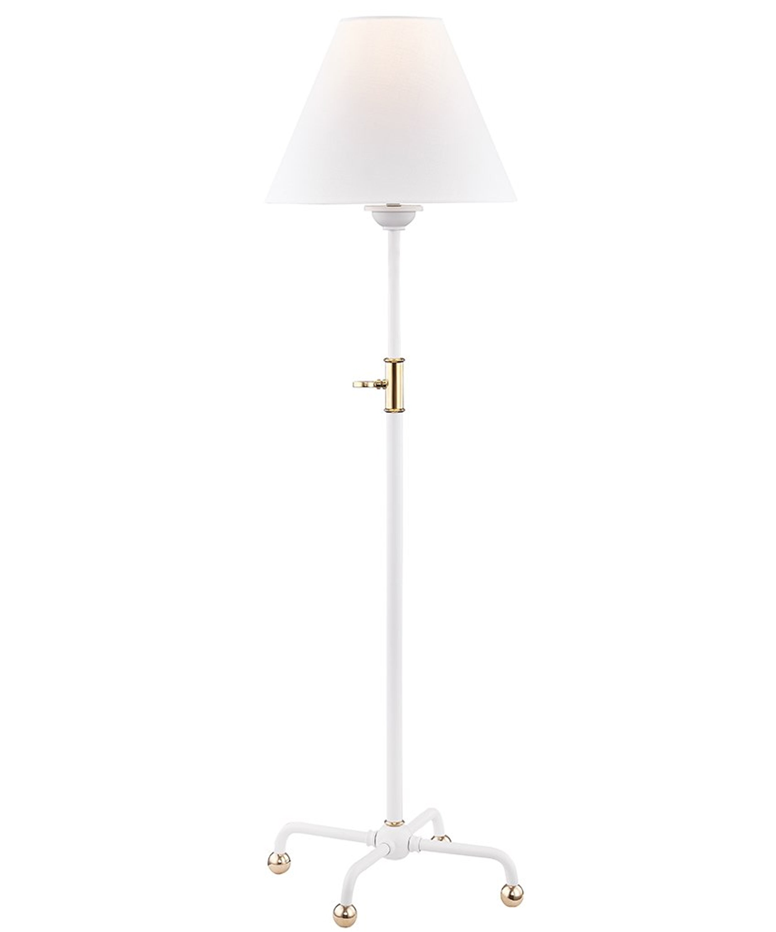 Classic No. 1 Adjustable Table Lamp, White