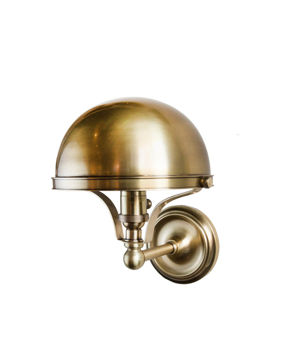Covington Wall Sconce, Aged Brass