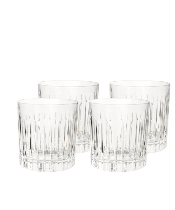 Martin Crystal Lowball Cocktail Glass, Set of 4