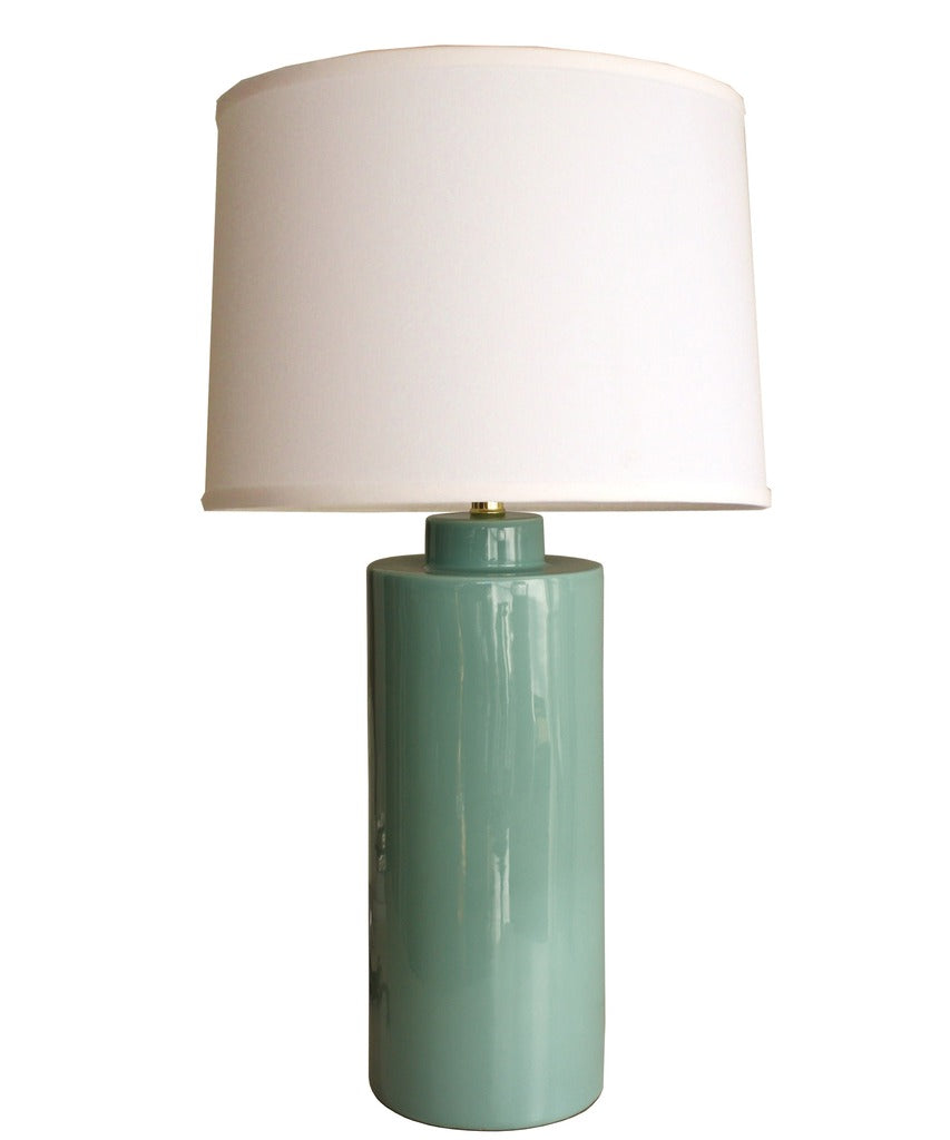 Truman Table Lamp, Turquoise