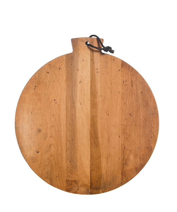 Dartford Round Wood Serving Board, 13""