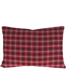 Faribault Plaid Wool Lumbar Pillow in Dawson Houndstooth, Faribault Woolen Mill Co.